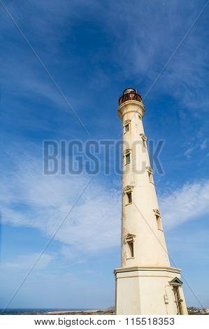 Aruba Lighthouse In Need Of Paint