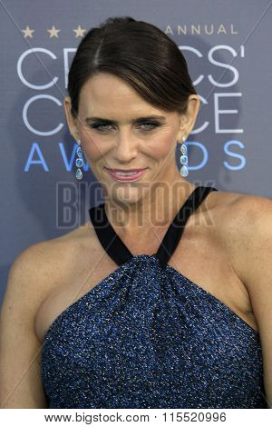 LOS ANGELES - JAN 17:  Amy Landecker at the 21st Annual Critics Choice Awards at the Barker Hanger on January 17, 2016 in Santa Monica, CA