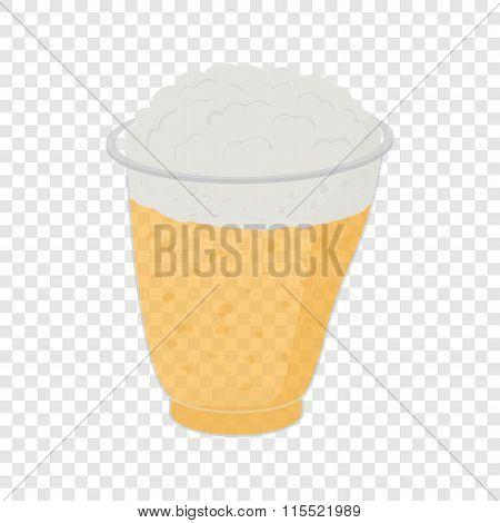 Beer in plastic cups