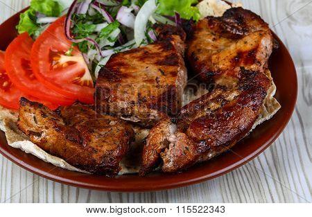 Pork Shashlik Barbeque
