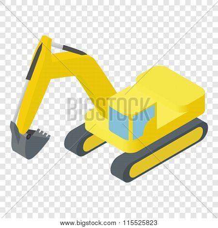 Isometric excavator ison