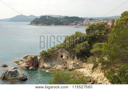A view from Lloret de Mar- Spain