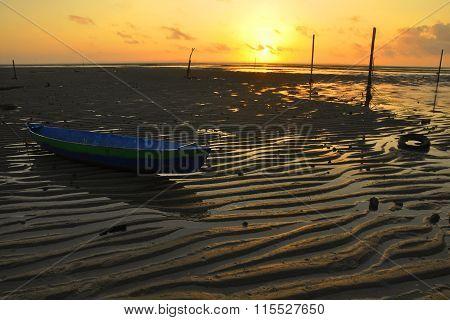 the low tide sunrise