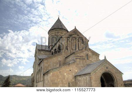 Svetitskhoveli (Living Pillar Cathedral). Mtskheta, Georgia.