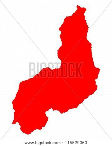 Map Of Piaui