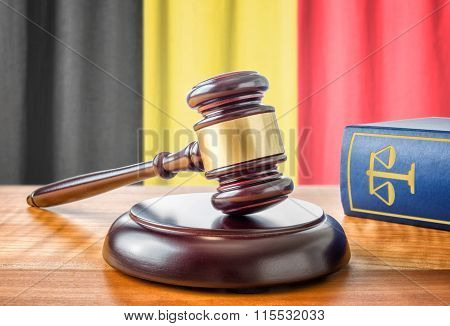 A Gavel And A Law Book - Belgium