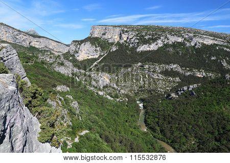 Canyon of river Veron