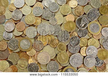 Russian Metal Money