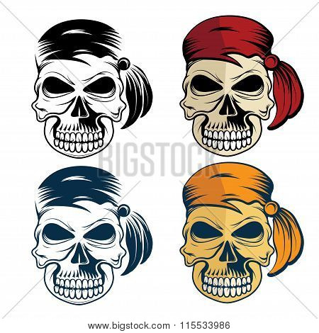 Pirates Skull Set