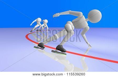 Speed Skating Short Track