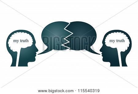 Two Person Arguing