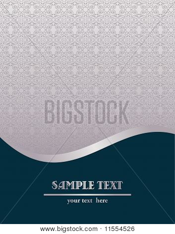 Vector Illustration Of Royal Vintage Template
