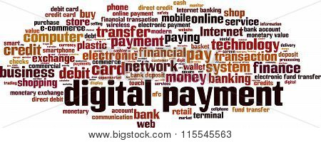 Digital Payment Word Cloud