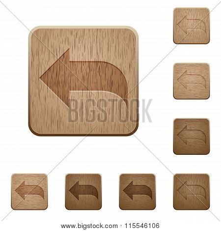 Reply Wooden Buttons