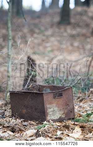 Mysterious Rusty Bucket