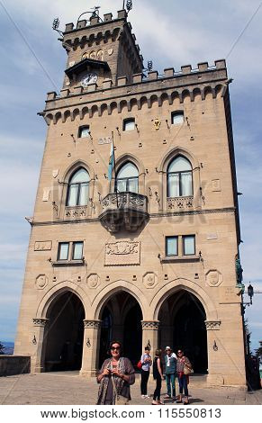 Palace of government in San Marino