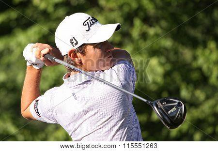 Adrian Otaegui At The Golf French Open 2015