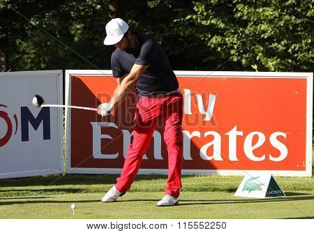Damien Perrier At The Golf French Open 2015