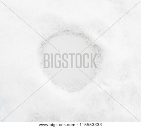 snow background with place for text or numeral