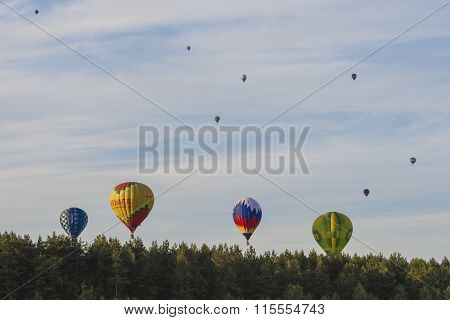 International Teams Participating in Air-Balloons International Aerostatics Cup Called 70 Years of