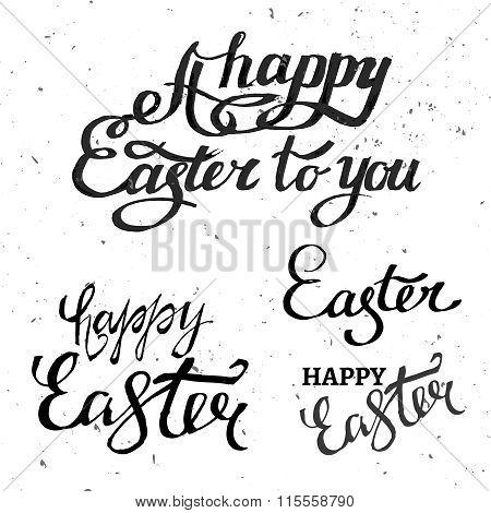 Vector Easter Lettering