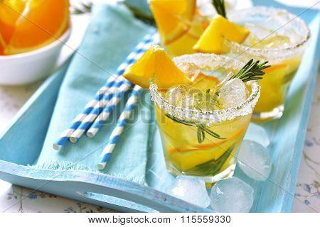 Orange Fizz.