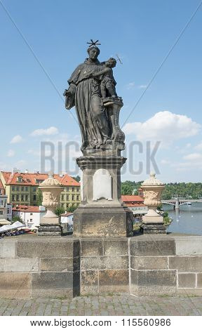 Statue Of St. Anthony Of Padua - Prague