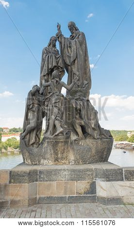 Statues Of Saints Cyril And Methodius - Prague