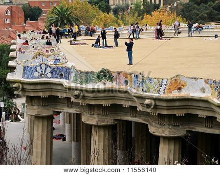Balcony Of Park Guell