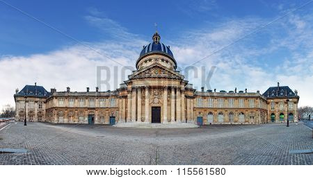 French Institute - Institute De France At Day Paris