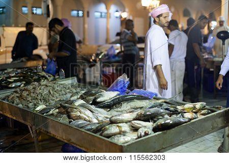 Fish Market In Nizwa, Oman