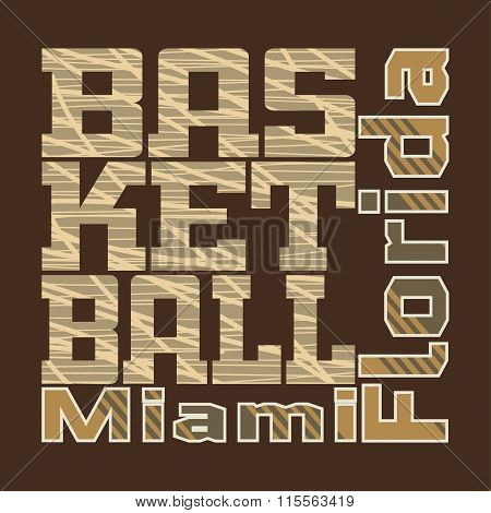 Basketball Design T-shirt