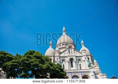 Basilique du Sacre Coeur church in Paris