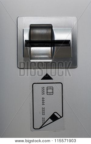 Atm Bank Machine Card Slot