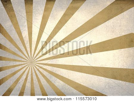 Sun Burst Simple Textured Retro Background