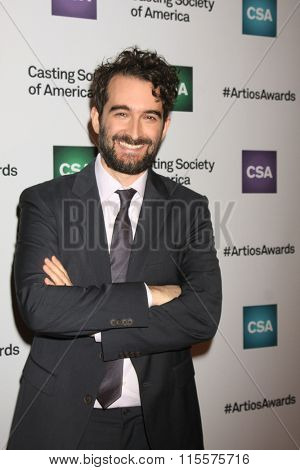 LOS ANGELES - JAN 21:  Jay Duplass at the 31st Annual Artios Awards at the Beverly Hilton Hotel on January 21, 2016 in Beverly Hills, CA