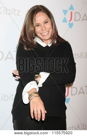 LOS ANGELES - JAN 20:  Melissa Rivers at the Let's Kibitz Showcase at the Improv on January 20, 2016 in Los Angeles, CA