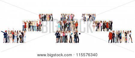 Workforce Concept Business Compilation