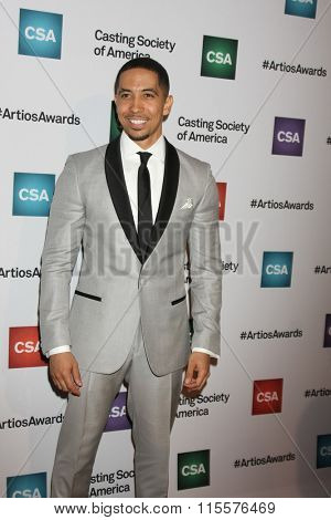 LOS ANGELES - JAN 21:  Neil Brown Jr at the 31st Annual Artios Awards at the Beverly Hilton Hotel on January 21, 2016 in Beverly Hills, CA