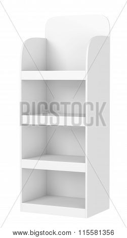 Display Stand With Shelves