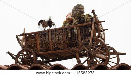 Wooden Rural Cart