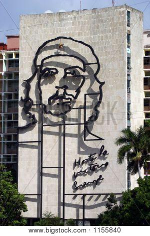Escultura del Che Guevara