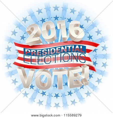 2016 Presidential Election In Usa