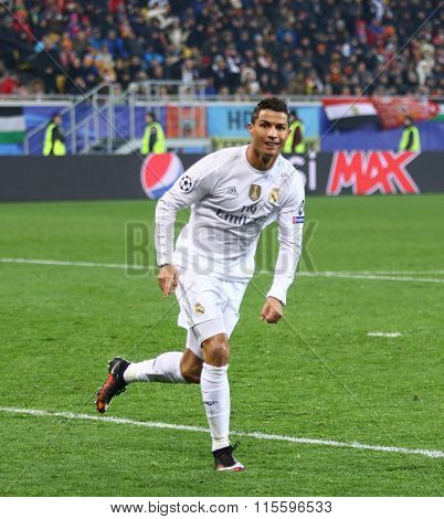 Cristiano Ronaldo Of Real Madrid