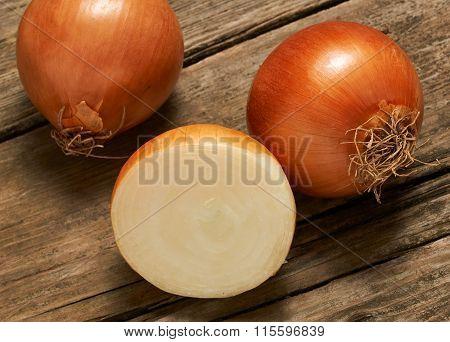 Three Delicious Onions