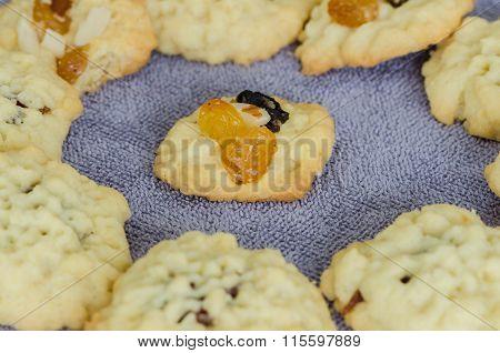Homemade Fruitcake Cookies