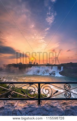 View of Niagara Falls Park