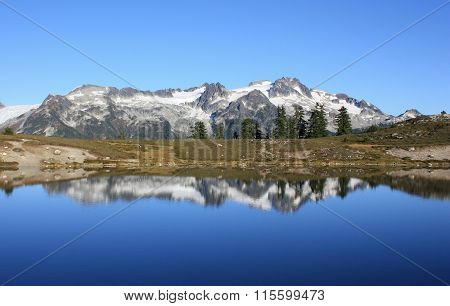 Mountain Reflection.