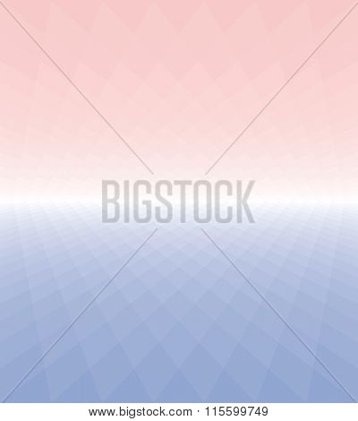 Vector cover page background in ROSE QUARTZ & SERENITY colors of the year 2016