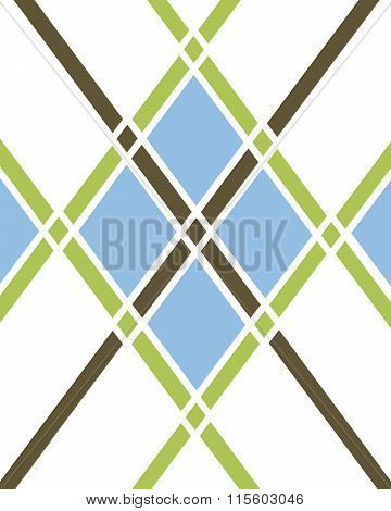 Argyle Pattern - Vector
